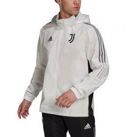 Juventus Training All Weather Jacket-White