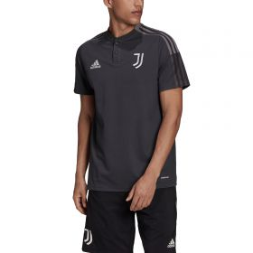 Juventus Training Polo-Grey