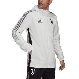 Juventus Training Presentation Jacket-White