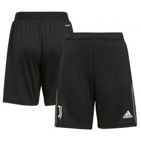 Juventus Training Shorts-Black-Kids