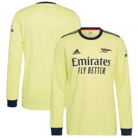 Arsenal Away Shirt 2021-22-Long Sleeve