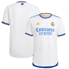 Real Madrid Home Authentic Shirt 2021-22