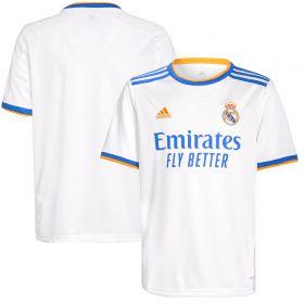 Real Madrid Home Shirt 2021-22-Kids