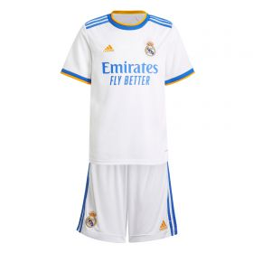 Real Madrid Home Youth Kit 2021-22