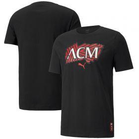 AC Milan FtblCore T-Shirt-Black
