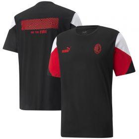 AC Milan FtblCulture T-Shirt-Black