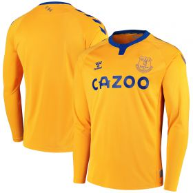 Everton Away Shirt 2020-21 - Long Sleeve with Richarlison 7 printing