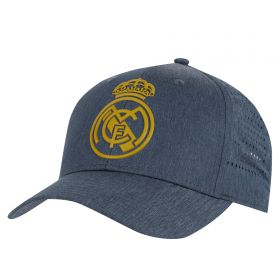 Real Madrid Fan Cap - Grey - Adult