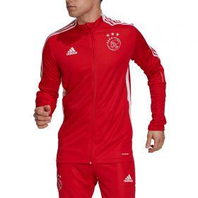 Ajax Training Track Jacket-Red