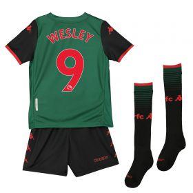 Aston Villa Third Minikit 2019-20 with Wesley 9 printing