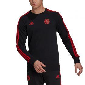FC Bayern Training Sweat Top-Black