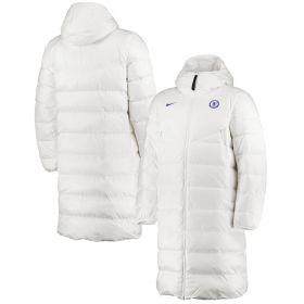 Chelsea Puffer Jacket- White