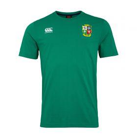 British & Irish Lions Cotton T-Shirt - Bosphorus - Mens