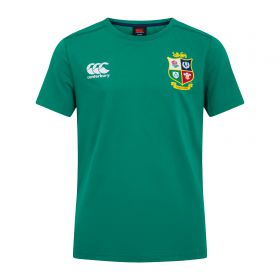 British & Irish Lions Cotton T-Shirt - Bosphorus - Junior