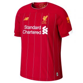 Liverpool Home Shirt 2019-20 with Lovren 6 printing