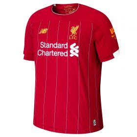 Liverpool Home Shirt 2019-20 with Virgil 4 printing