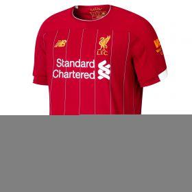 Liverpool Home Shirt 2019-20 with Wijnaldum 5 printing