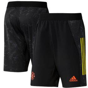 Manchester United European Training Shorts - Black