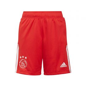 Ajax Training Shorts-Red-Kids