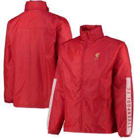 Liverpool Shower Jacket - Red - Men's