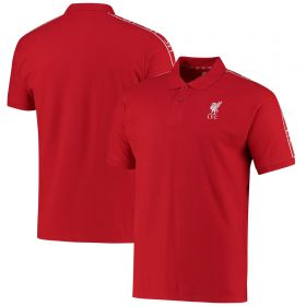 Liverpool Tape Detail Polo - Red - Men's