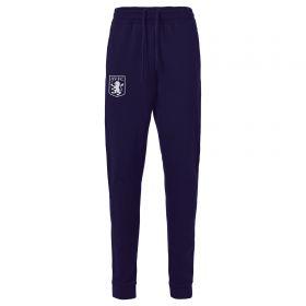 Aston Villa Pro Travel Tech Fleece Pants - Navy