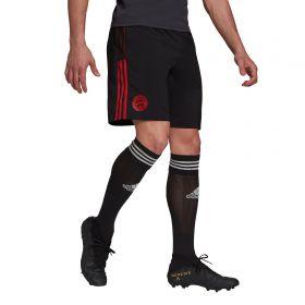 FC Bayern Training Down Time Shorts-Black
