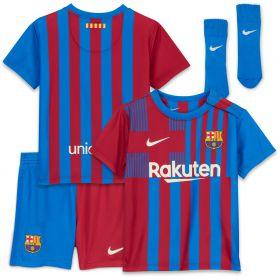 Barcelona Home Stadium Kit 2021-22 - Infants