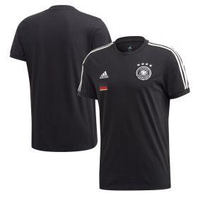 Germany 3 Stripe T-Shirt - Black