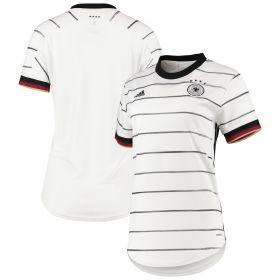 Germany Home Shirt 2019-21 - Womens with Goretzka 18 printing