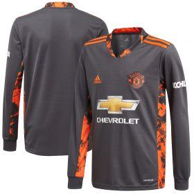 Manchester United Home Goalkeeper Shirt 2020-21 - Kids