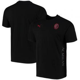 AC Milan Casuals T-Shirt-Black