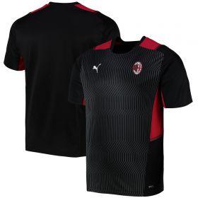 AC Milan Training Jersey-Black