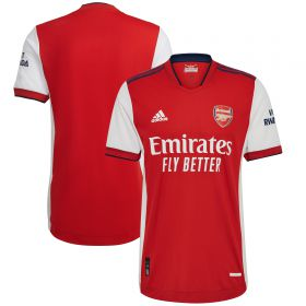 Arsenal Home Authentic Shirt 2021-22