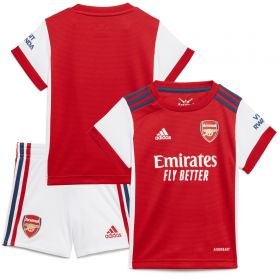 Arsenal Home Babykit 2021-22