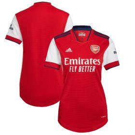 Arsenal Home Shirt 2021-22-Womens
