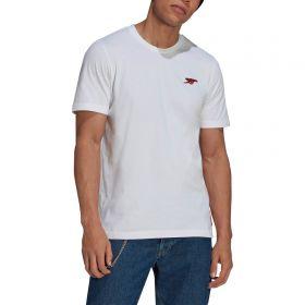 Arsenal STR Graphic T-Shirt-White
