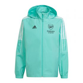 Arsenal Training All Weather Jacket-Green-Kids