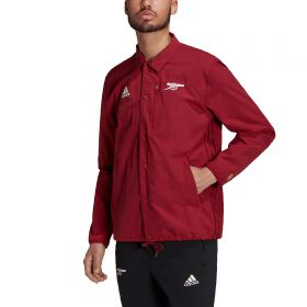 Arsenal Travel Coaches Jacket-Red