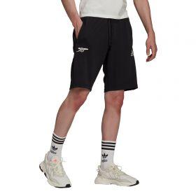 Arsenal Travel Shorts-Black