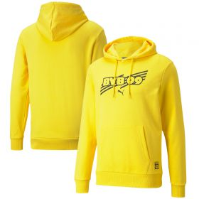 Borussia Dortmund FtblCore Hoodie-Yellow