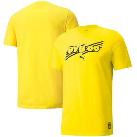 Borussia Dortmund FtblCore T-Shirt-Yellow