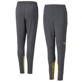 Borussia Dortmund Training Pants-Grey-Kids