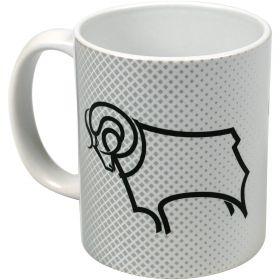 Derby County Halftone Mug