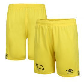 Derby County Home Goalkeeper Shorts 2021-22 - Kids