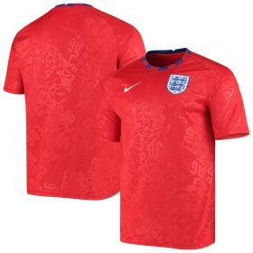 England Breathe Top- Red