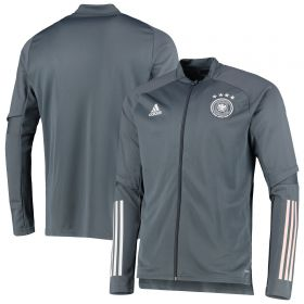 Germany Training Jacket - Dk Grey