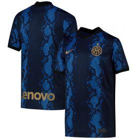 Inter Milan Home Stadium Shirt 2021-22 - Kids