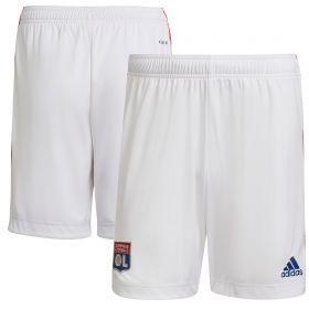 Olympique Lyon Home Shorts 2021-22-Kids