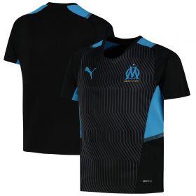 Olympique de Marseille Training Jersey-Black-Kids